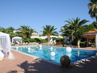 Splendid Villa with Private Thermal Pool and Lush Gardens in Ischia