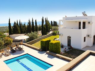 Delightful Villa with Private Pool and Panoramic Sea Views