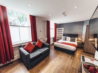 The Stay Company, Friar Gate, Studio Apartment.