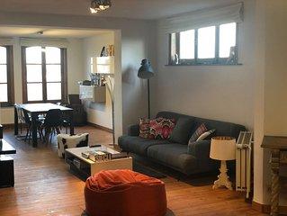 Appartement vintage avec vue sur Bruxelles