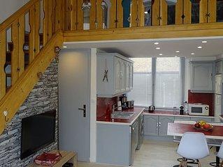 Appartement T2 duplex au RDC  a Saint-Gervais Les Bains