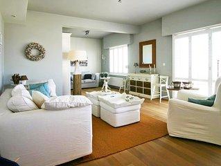 Sfeervol en comfortabel appartement direct aan het strand