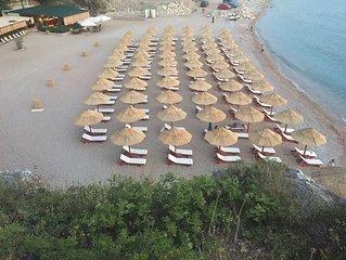 Luxury Seafront Villa with direct beach access in Perazica Do, Petrovac