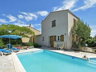 Elegant Villa in Bize-Minervois with Swimming Pool
