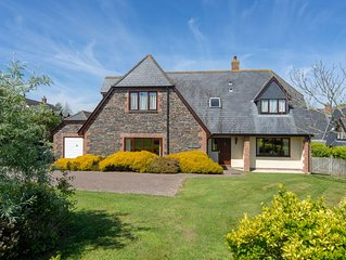 A beautifully furnished house offering large, luxury accommodation.