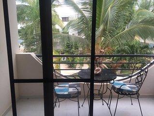 Appartement renovee 2 chambres 2 sdb vue piscine