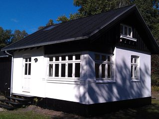 Charming house with its own beach in the National Parc of Mols close to Ebeltoft