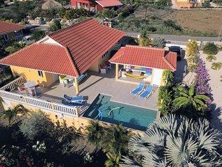 Luxe 6 persoons villa met privé zwembad, rustig gelegen temidden van natuur.