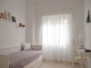 Lovely days in Ostia. Comfortable apartment, calm and bright, near the Metro
