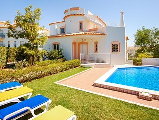 UP TO 45% OFF! Villa w/ pool, games room, AC, Wi-Fi,300m to beach