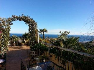 Un jardin suspendu sur la mer