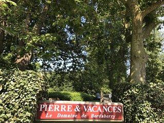 Appartement Au Domaine de Bordaberry, village Pierre et Vacance