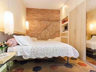 Trastevere, Historical Center. Semi detached, Luxury Apartment. Wifi Free