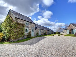 The 5\* Gamekeepers Cottage offers quality accommodation for up to 8 people and