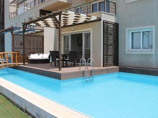 Luxury Apartment With Private Pool, Offers Beach, Sea And Mountain Views