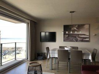 Koksijde, Modern appartement 6 pers met zeezicht