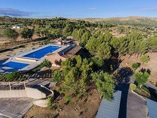 Casa rural (alquiler íntegro) Finca Piedralrey para 40 personas