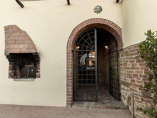 Residenza Laura-Alloggio di charme per 4 persone in casale vicino Montepulciano