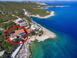 One bedroom apartment near beach Cove Pokrivenik bay - Pokrivenik (Hvar) (A-1041