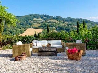 Villa Fante in the beautiful Tredozio