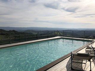Appartamento con vista mozzafiato sulle colline Toscane nei pressi di Firenze