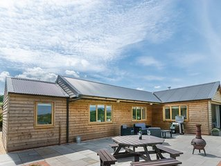 Detached holiday lodge located on a farm just outside the village of Bassaleg in