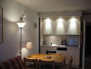 Ski Studio Apartment In Flaine Foret, Near Shops, Restaurants And Activities