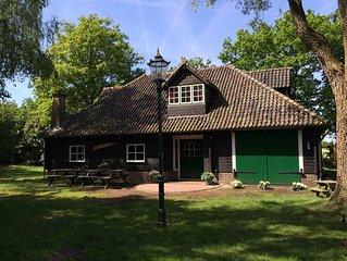 Sfeervolle vrijstaande vakantiewoning met veel privacy en rust op de Veluwe