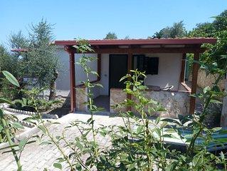villino con veranda e piscina