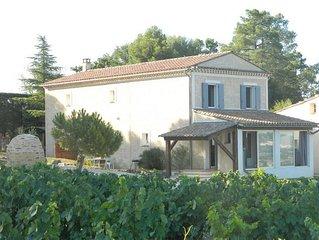 En Provence, au milieu des vignes!  face au mont Ventoux