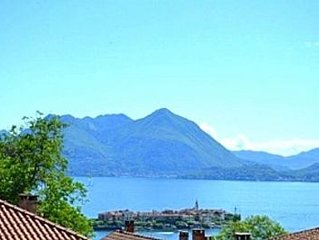 Villla Panoramica, Baveno:Two Bedroom. Home With Splendid Lake & Mountain Views