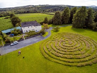 Holiday homes in Kilkenny on a traditional farm
