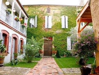 La Villa Hadrien, le calme dans une villa de charme à Plaisance du Gers