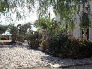 antica villa nella campagna ragusana