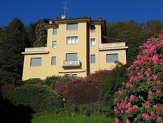 Villa a picco sul Lago Maggiore