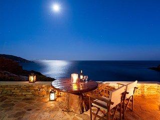 Athina Ios Villa, Romantic Seaview, 1BDR