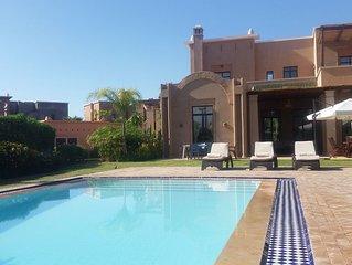 Marrakech Pearl, un joyau de raffinement avec une vue époustouflante sur l'Atlas
