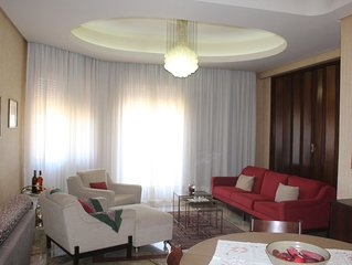 Appartamento panoramico in centro e con garage
