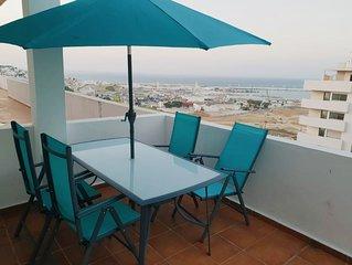 Duplex Atico con espectaculares vistas a la bahía de Tanger.