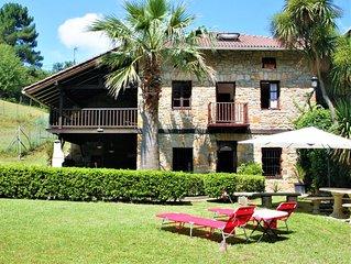 Casa Rural Caserío Urikosolo Para 12 Personas