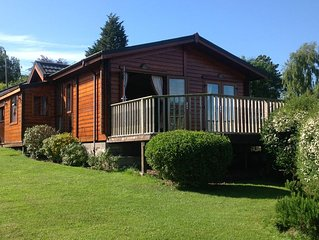 Beautiful log cabin in the country but minutes from Cardiff
