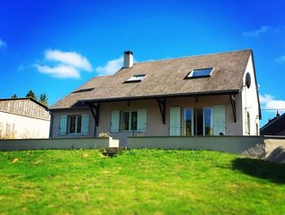 Villa With Views In Morvan National Park  - Hot Tub, Games Room, Cinema Screen