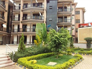 A wonderful apartment wail in the incredible city of Kampala