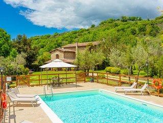 Villa Casale Terra Farfa: Large Private Pool, WiFi