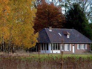 Unieke vakantiewoning voor 8 personen in Limburgs natuurgebied