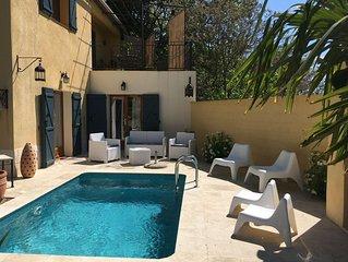 Maison de vacance familiale avec jardin et piscine