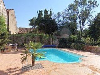 5 Bedroom 3 Bathroom Maison de Maitre In Minervois Village with Pool & Garden