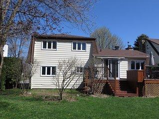 Maison à louer en banlieu de Montréal (Québec)