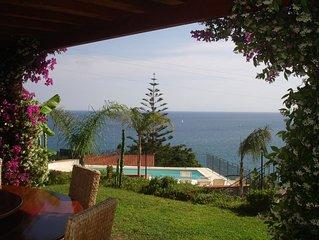 Villa Del Mare Ligure Grande appartamento in villa con piscina a 150 metri mar