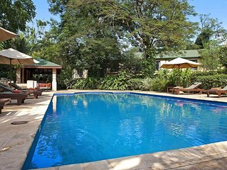 Spend all day touring Kampala, and return to relax at Emin Pasha Hotel & Spa